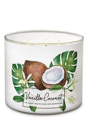 Vanilla Coconut 3-Wick Candle