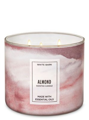 Almond 3-Wick Candle