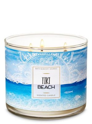 Tiki Beach 3-Wick Candle