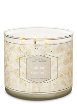 Tahitian Coconut 3 Wick Candle