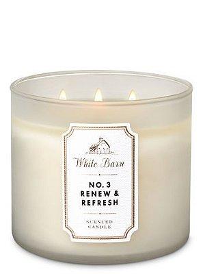 Nº3 Renew & Refresh 3-Wick Candle