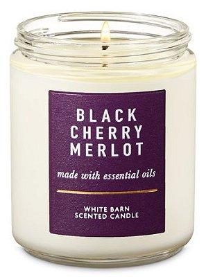 Black Cherry Merlot Single Wick Candle