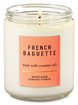 French Baguette Single Wick Candle