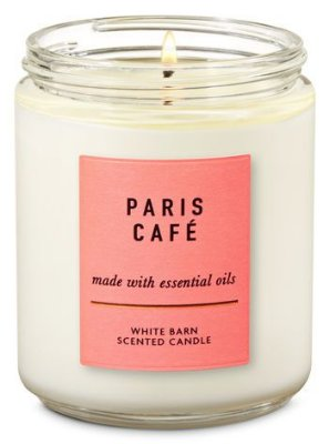 Paris Café Single Wick Candle