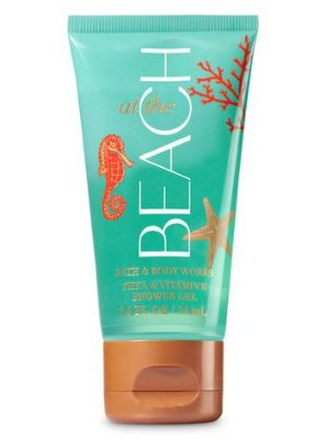 At The Beach Shower Gel Travel Size