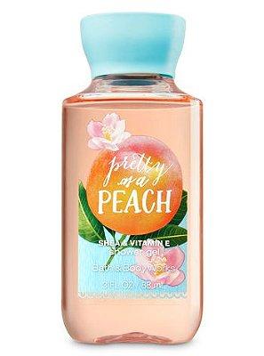 Pretty As A Peach Shower Gel Travel Size
