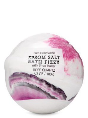 Rose Quartz Epsom Salt Bath Fizzy