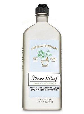 Stress Relief Sage Cedarwood Body Wash & Foam Bath