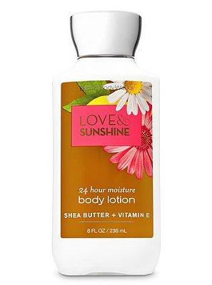 Love & Sunshine Super Smooth Body Lotion