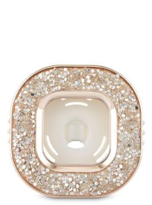 Glitter Square Vent Clip Scentportable Fragrance Holder