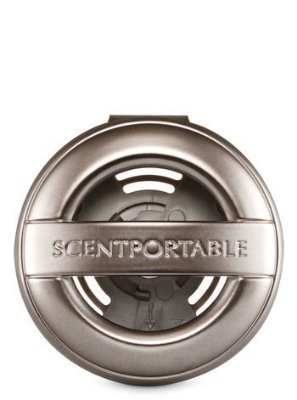 Pewter Vent Clip Scentportable Holder