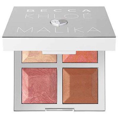 Becca x Khloé Kardashian & Malika Haqq Bronze, Blush & Glow Palette