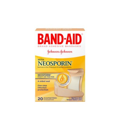 Band-Aid With Neosporin