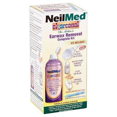 NeilMed ClearCanal Ear Wax Removal Complete Set