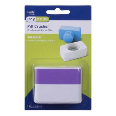 Ezy Dose Portable Pill Crusher For Crushes And Stores Pills