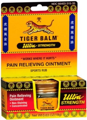 Tiger Balm Ultra Strenght Pain Relieving Ointment