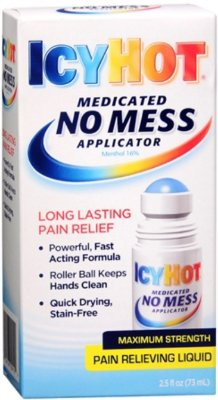Icy Hot No Mess Applicator Pain Relieving Liquid