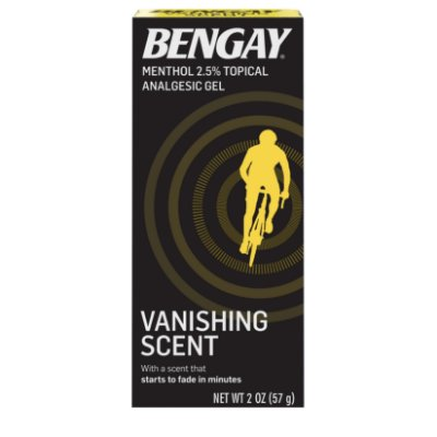 Vanishing Scent Bengay Non-Greasy Pain Relief