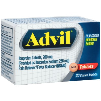 Advil Pain Reliever / Fever Reducer Film Coated
