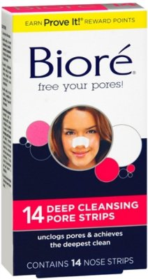 Biore Deep Cleansing Pore Strips - Nose Strips