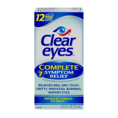 Clear Eye Complete 7-Symptom Relief Eye Drops