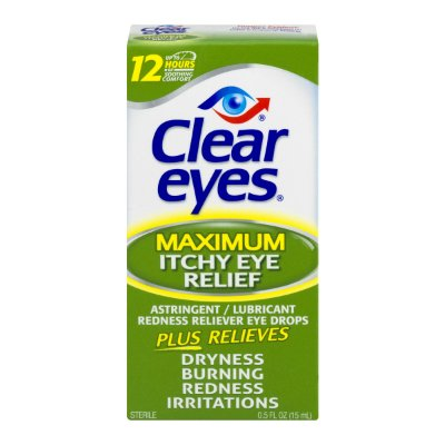 Clear Eyes Maximum Itchy Eye Relief Drops