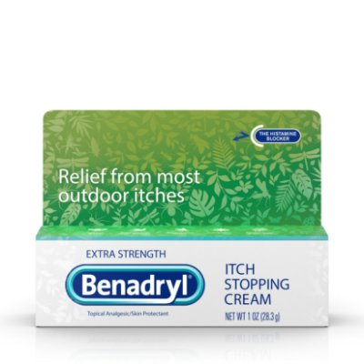 Benadryl Extra Strength Itch Relief Cream, Topical Analgesic
