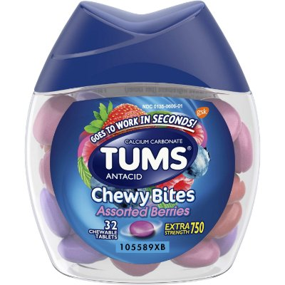 Tums Antiacid Chewy Bites Assorted Berries
