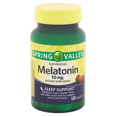 Spring Valley Melatonin 10mg