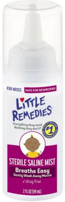 Little Remedies Sterile Saline Nasal Mist