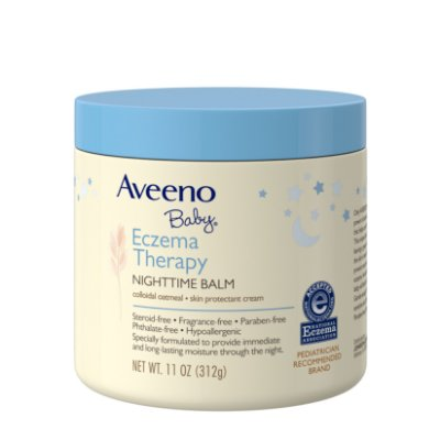 Aveeno Baby Eczema Therapy Nighttime Balm with Natural Oatmeal