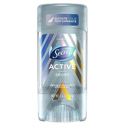 Secret Active Clear Gel Antiperspirant and Deodorant