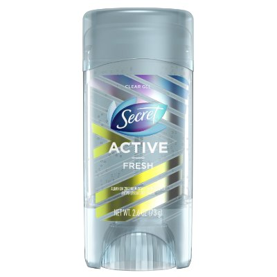 Secret Active Clear Gel Antiperspirant and Deodorant