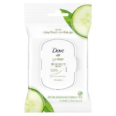 Dove Go Fresh Cucumber & Green Tea Deodorant Wipes