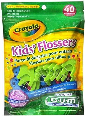 Crayola Kids' Flossers 40UN