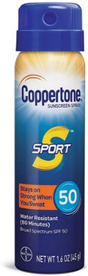 Coppertone Sport Continuous Sunscreen Spray Broad Spectrum SPF 50 45G