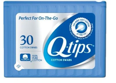 Q-tips Swabs Purse Pack
