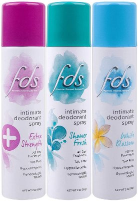 FDS Intimate Deodorant Spray All Day Freshness 56G
