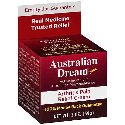 Australian Dream Arthritis Pain Relief Cream 59G
