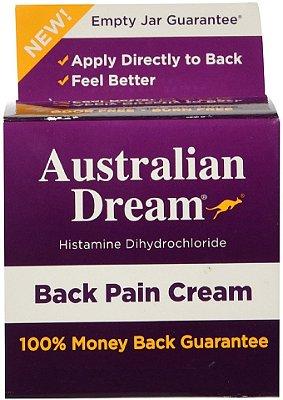 Australian Dream Back Pain Cream 59G