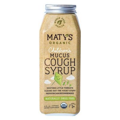 Maty's Organic Children's Mucus Cough Syrup 177ML