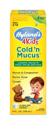 Hyland's 4 Kids Cold 'n Mucus Relief Liquid 118ML