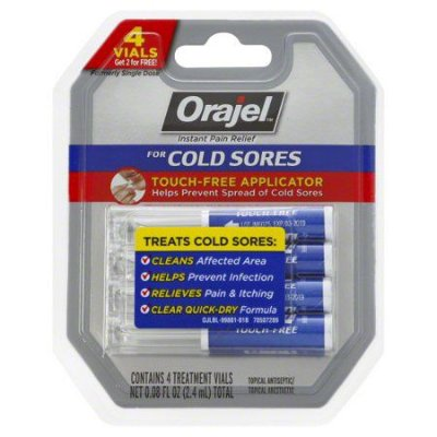 Orajel Touch-Free Applicator for Cold Sores 0,6G