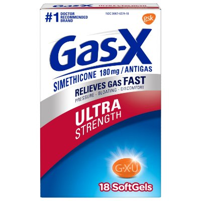 Gas-X Ultra Strength Gas Relief Softgels