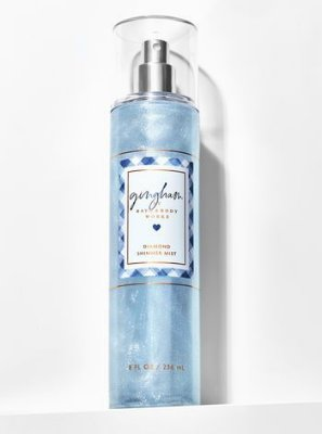 Gingham Diamond Shimmer Mist