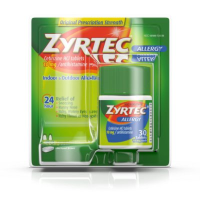 Zyrtec 24 Hour Allergy Relief Tablets
