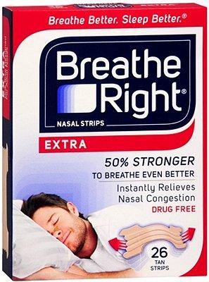 Breathe Right Nasal Strips Extra