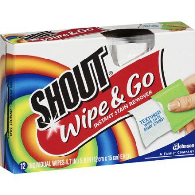 Shout Wipe And Go Wipes