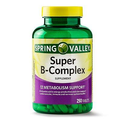 Spring Valley Super B-Complex Tablets