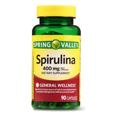 Spring Valley Spirulina Capsules